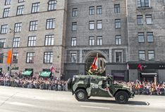 Victory Day Parade Royalty Free Stock Photos