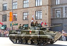 Victory Day Parade Stock Photography