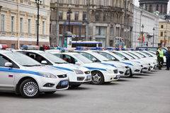 Victory Day parade security Royalty Free Stock Photos