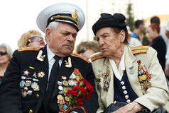 VICTORY DAY IN RUSSIA Stock Photos