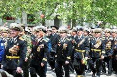 Victory day in Sevastopol Stock Photos