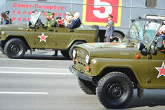 Victory Day 2013 Royalty Free Stock Photo