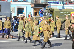 Victory Day 2013 Royalty Free Stock Image