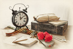 Victory Day still life Stock Photography