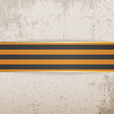 Victory Day Symbol -  St. George striped Ribbon Stock Photography