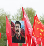 Victory Day symbol, World War 2 - joseph stalin Stock Photos
