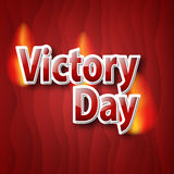 Victory Day. 9th May.9 May design vector graphics. Vector illustration on red background Royalty Free Stock Photos
