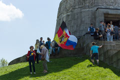 Victory Day in Treptower Park. Berlin Royalty Free Stock Photography