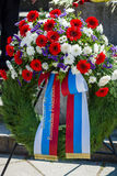 Victory Day in Treptower Park. Berlin Stock Images