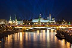 Victory Day-vieringen in Moskou, Rusland Royalty-vrije Stock Afbeelding