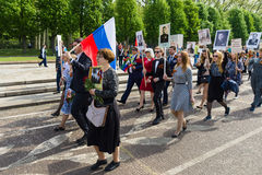 Victory Day (9 May) in Treptower Park. Berlin, Germany Stock Photography