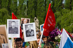 Victory Day (9 May) in Treptower Park. Berlin, Germany Royalty Free Stock Photography