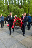 Victory Day (9 May) in Treptower Park. Berlin, Germany Stock Photos