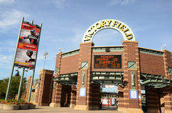 Victory Field, Indianapolis royalty-vrije stock foto's