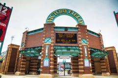 Victory Field Stadium en Indianapolis Imagen de archivo