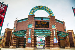 Victory Field Stadium in Indianapolis Stock Afbeelding