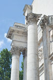 Victory Gate in Classical Architecture Stock Photography