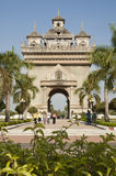 Victory Gate, Vientiane, Laos Royalty Free Stock Photos