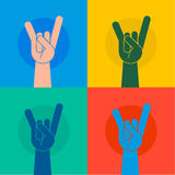 Victory gesture Royalty Free Stock Photos