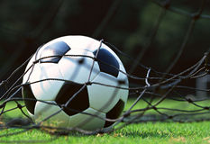 Victory goal Royalty Free Stock Image