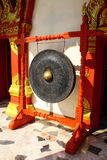 Victory gong and now used in temple Royalty Free Stock Image