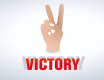 Victory Hand Stock Photos