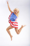 Victory jump Royalty Free Stock Photos