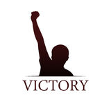 Victory logo template Stock Photo