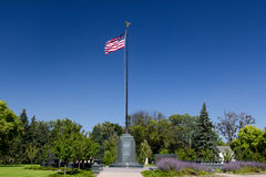 Victory Memorial Drive Monument Royalty Free Stock Photography