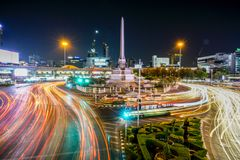 Victory Monument à Bangkok, Thaïlande Image stock