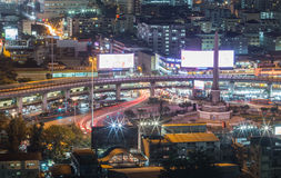 Victory Monument Bangkok, Thailand royaltyfri foto