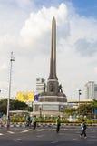 "Victory Monument Bangkok, Thailand, AUGUSTI 16-2015: ""Bike för Mom† Royaltyfri Bild"