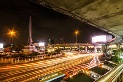 Victory Monument in Bangkok, was erected in June 1941 as a Landmark capital city of Thailand Royalty Free Stock Image