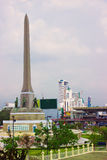 Victory Monument - big military monument in Bangkok, Thailand Stock Photography
