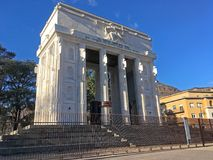 Victory Monument, Bozen, Italien stockfoto