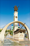 Victory monument Buon Me Thuot Royalty Free Stock Images