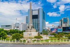 Victory Monument Center de Banguecoque Fotos de Stock Royalty Free