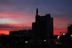 Victory Monument i Bangkok, Thailand royaltyfria bilder