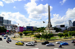 victory monument The land Mark of Captital city of thailand. Royalty Free Stock Photography