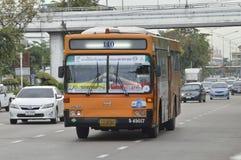 140 Victory Monument - Ma Ha Chai Maung Mai. Bangkok,Thailand ,September 11, 2015 140 Victory Monument - Ma Ha Chai Maung Mai Bangkok bus car on the road city stock photography