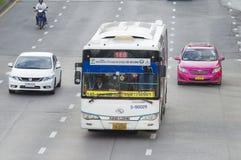140 Victory Monument - Ma Ha Chai Maung Mai. Bangkok,Thailand ,September 11, 2015 140 Victory Monument - Ma Ha Chai Maung Mai Bangkok bus car on the road city stock photos