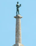 Victory monument - symbol of Belgrade - Serbia Royalty Free Stock Photos