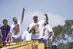 Victory parade for 2009 NBA Champion Stock Photography