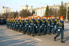 Victory Parade 2010 Stock Photo