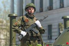 Victory Parade Fotografia Stock