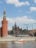 Victory Parade militar en Moscú Imagen de archivo libre de regalías