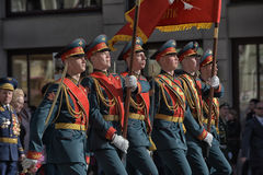 Victory parade in St.Petersburg. Stock Photography