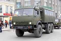 Victory Parade 2014 in Yekaterinburg, Rusland Stock Fotografie