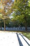 Victory Park dans la ville Dallas images stock