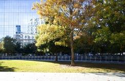 Victory Park en la ciudad Dallas Foto de archivo libre de regalías